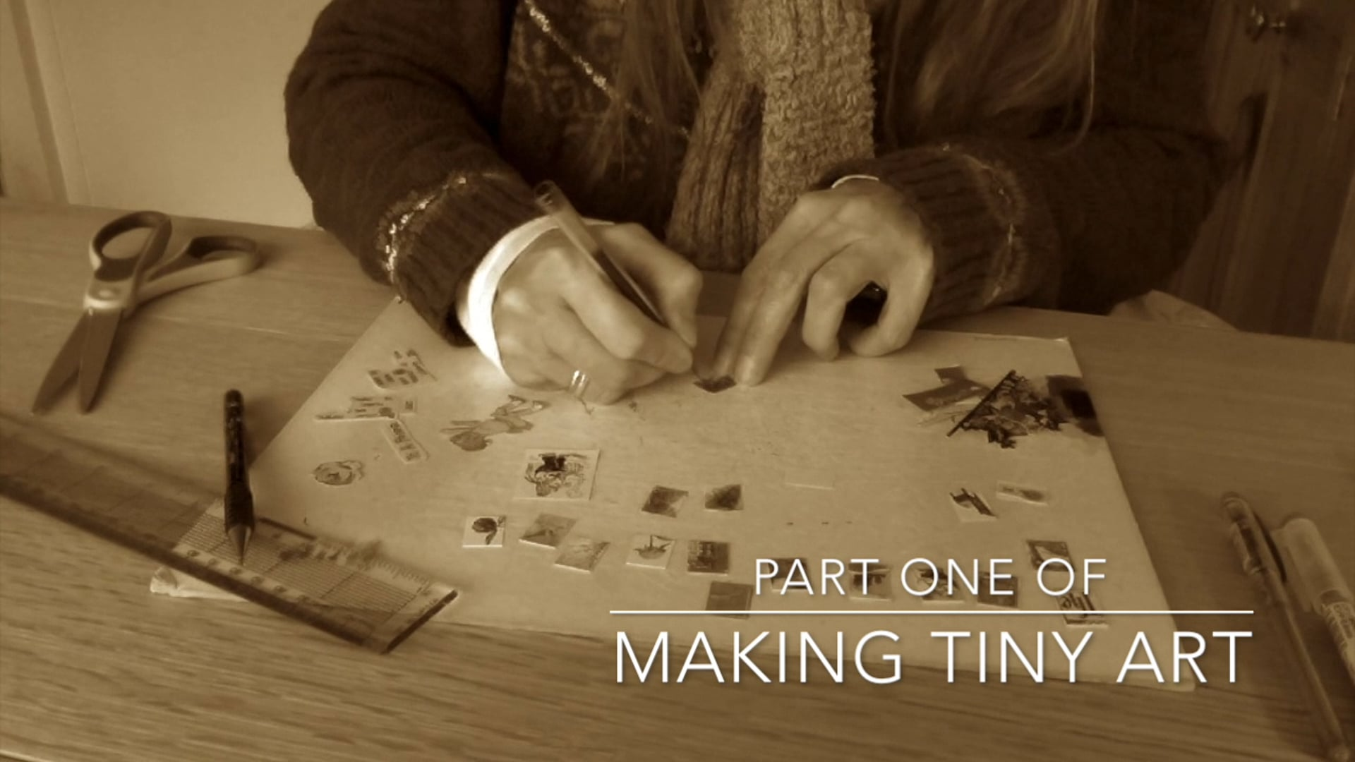 Making Miniature Artworks Part 1