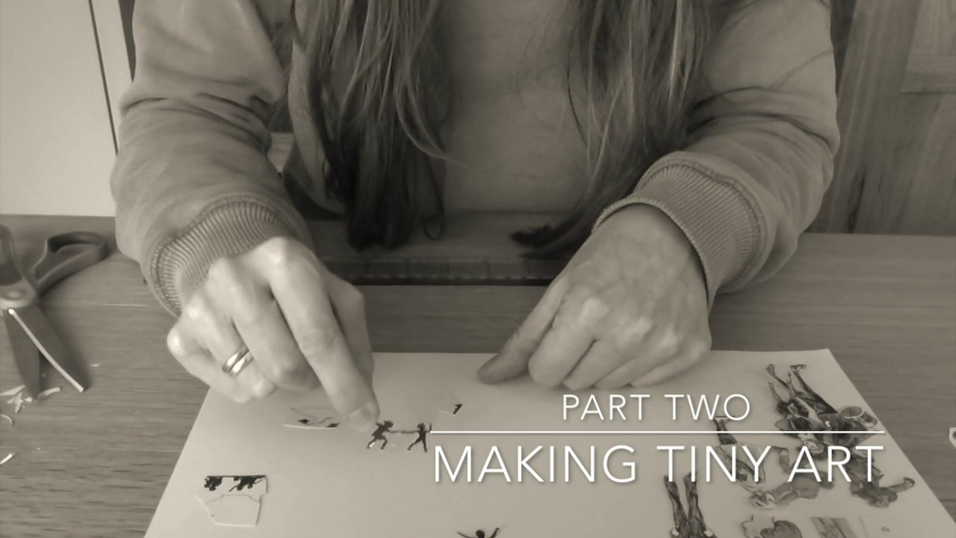 Making Miniature Artworks Part 2