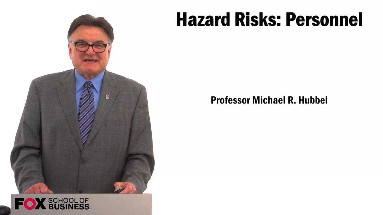 59470Hazard Risks: Personnel