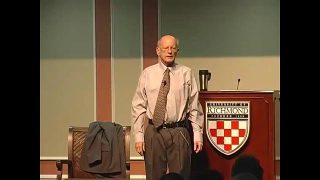 Last Lecture Series: Joe Hoyle (2009)
