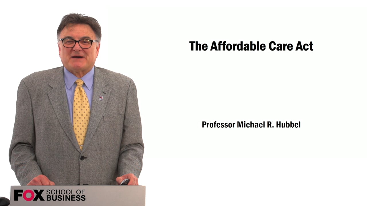 59513The Affordable Care Act