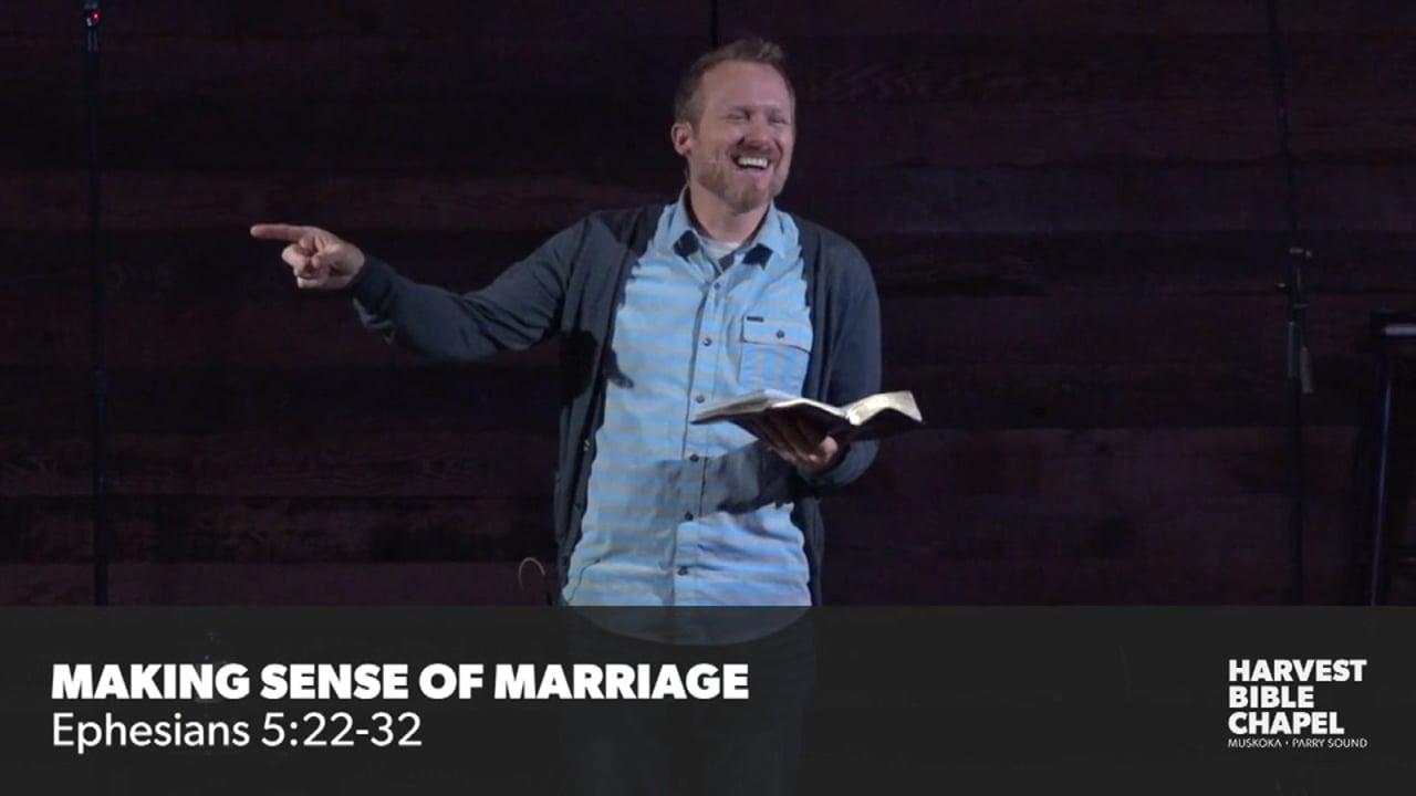 Making Sense Of Marriage