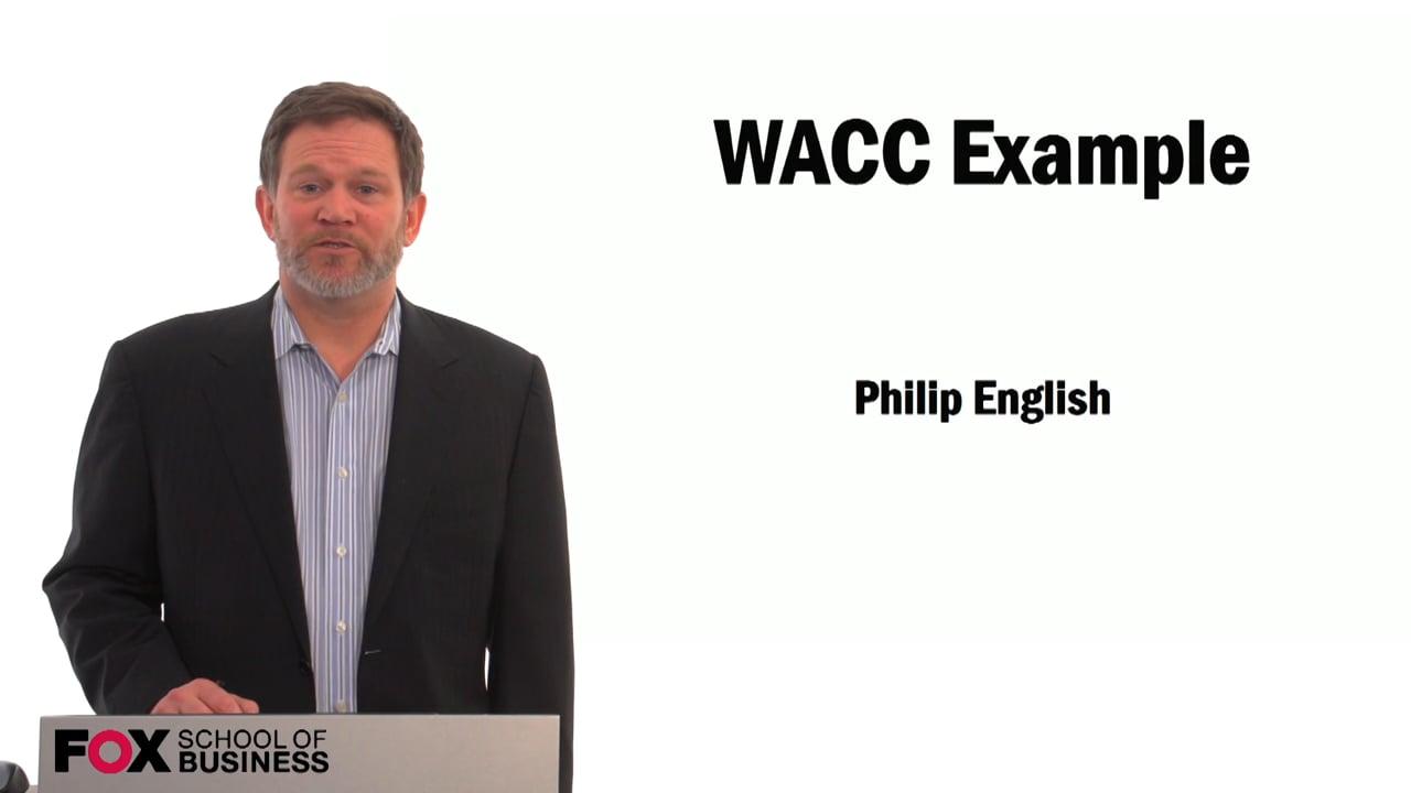 59491WACC Example
