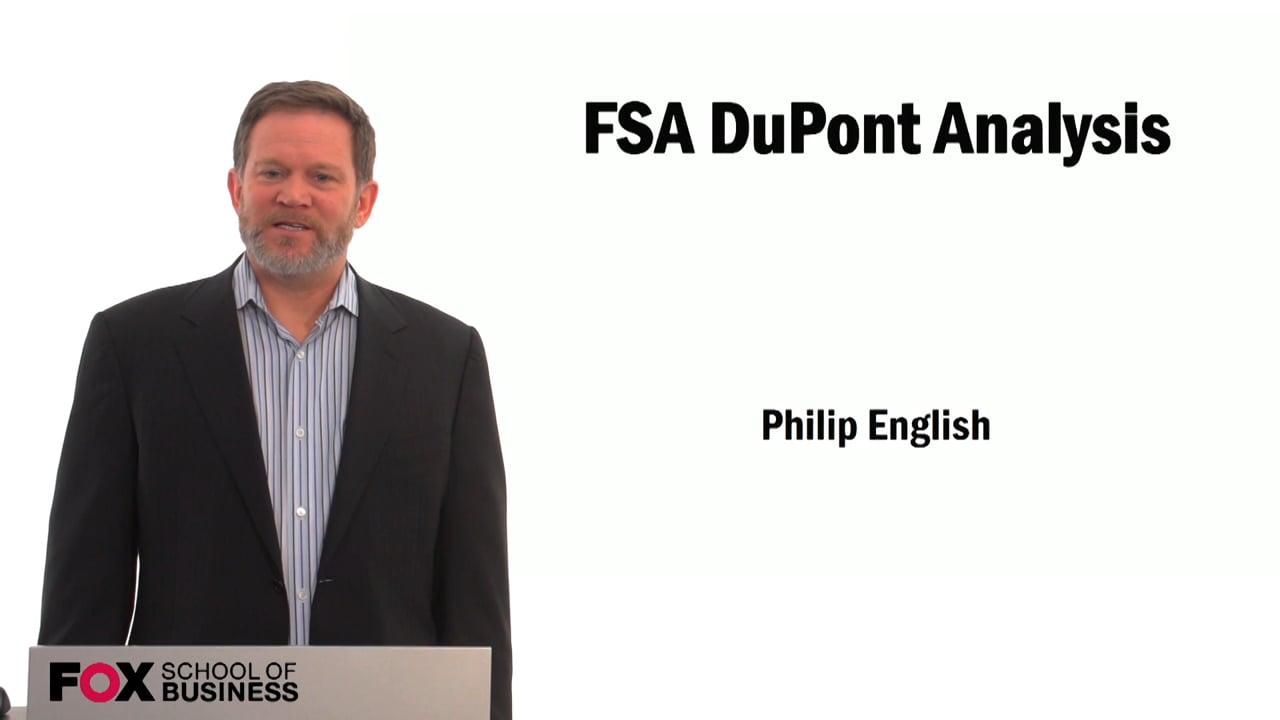 59496FSA DuPont Analysis