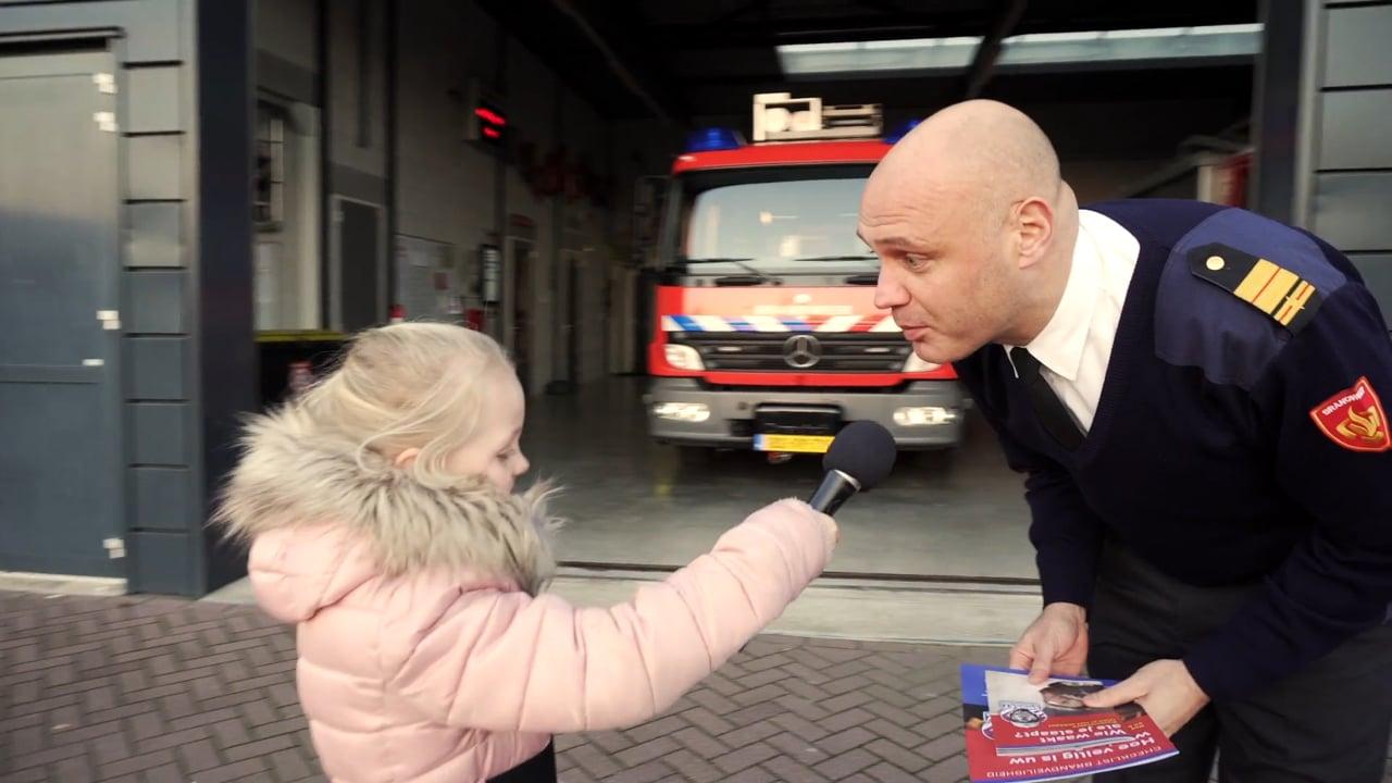 De baas van de brandweer