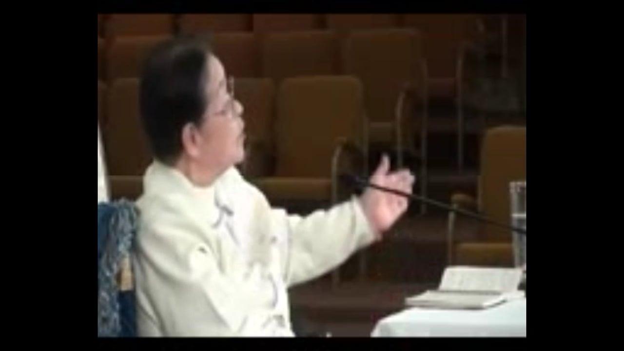Mrs. Hyun Shil Kang's testimony on December 25, 2016
