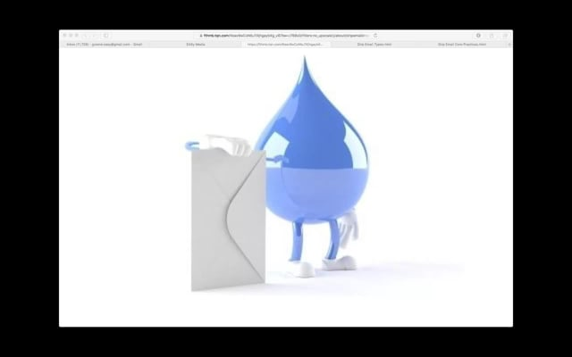 EASy Webinar - Drip email Campaign