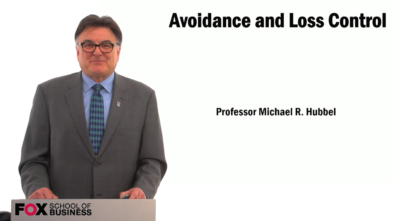 59489Avoidance and Loss Control