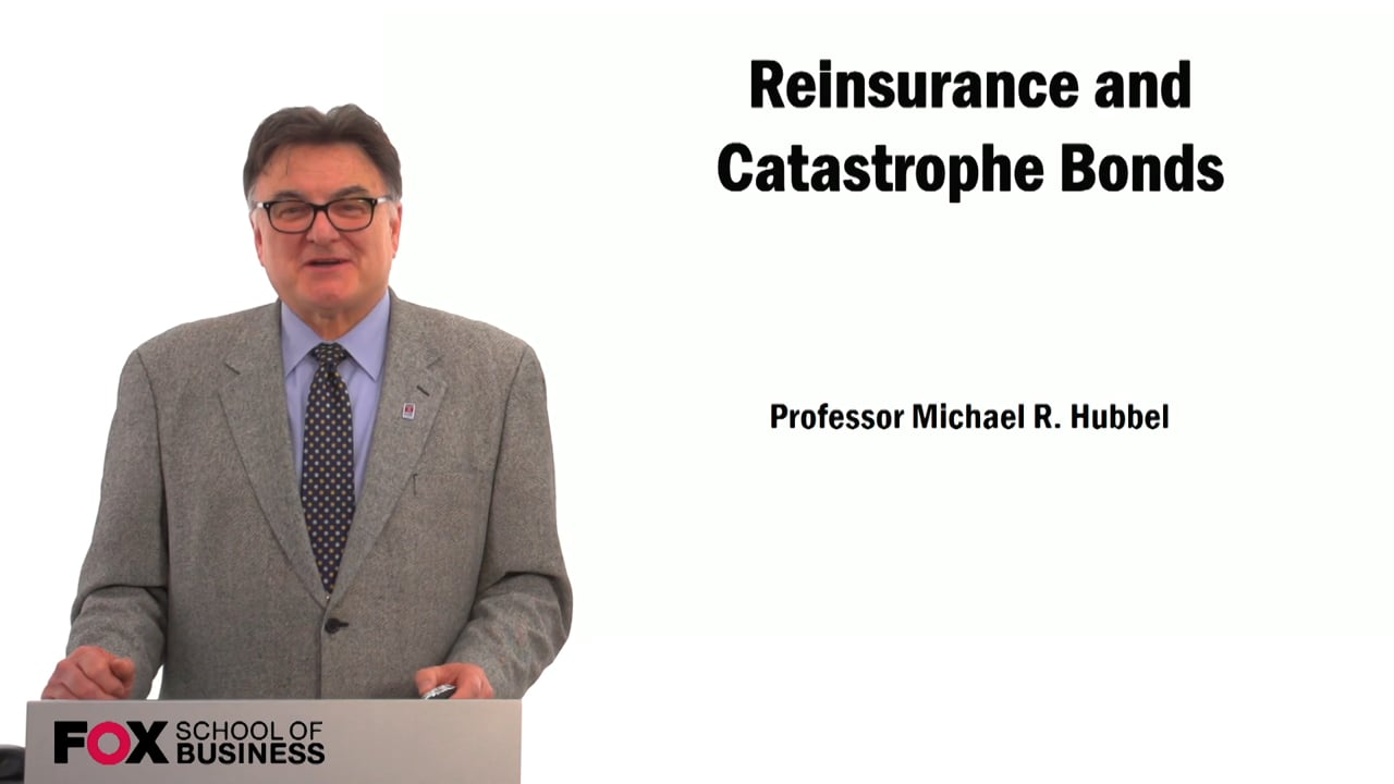 59487Reinsurance and Catastrophe Bonds