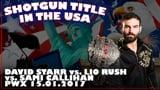 Shotgun Title in the USA: David Starr vs. Lio Rush vs. Sami Callihan