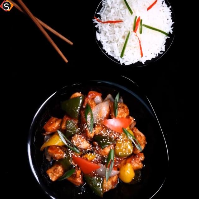 Csípős chilis csirke – Könnyű chilis csirke recept