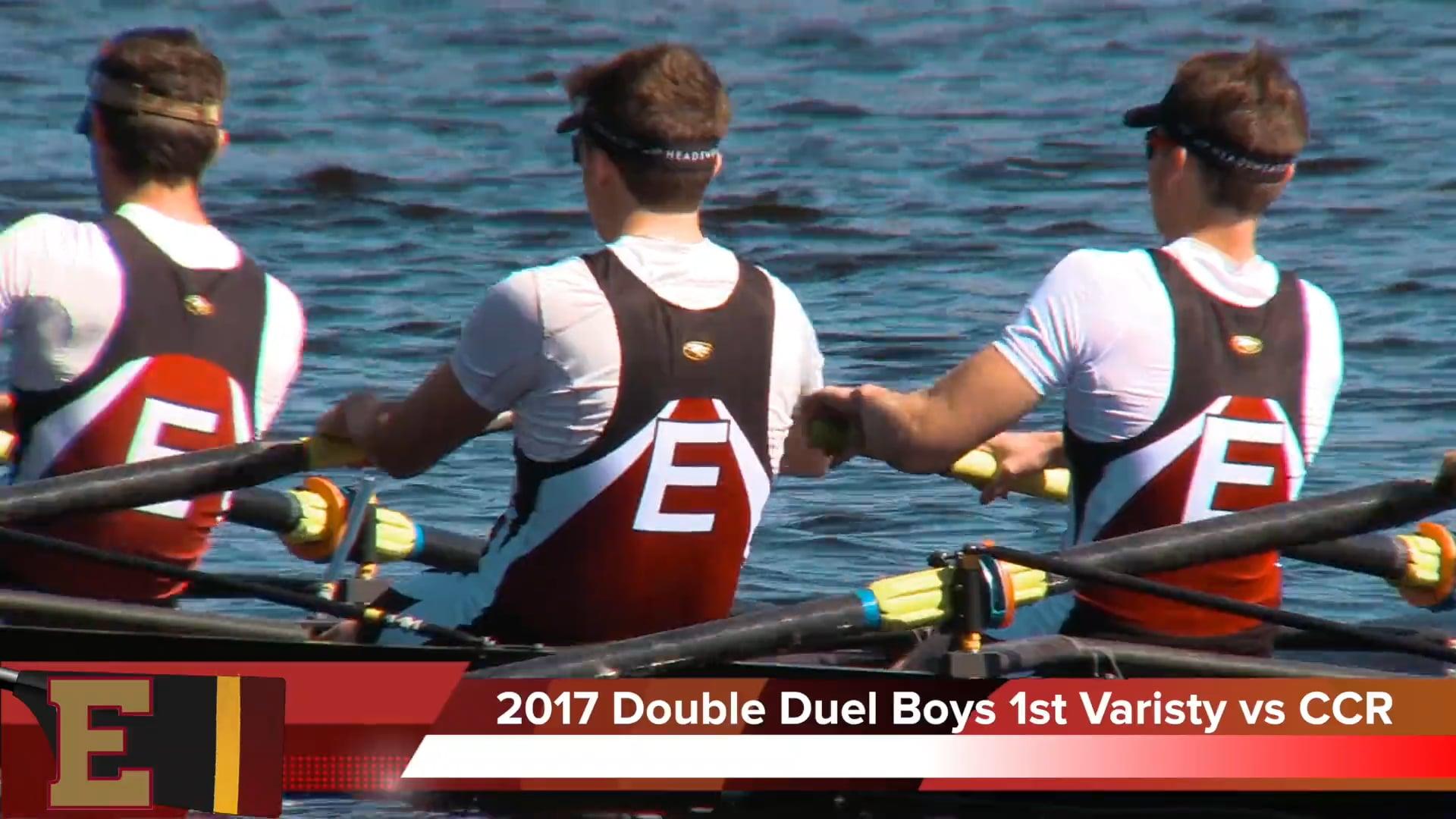 Boys 1st Varsity 2017 Double Duel Jacksonville Episcopal vs Capital City Rowing