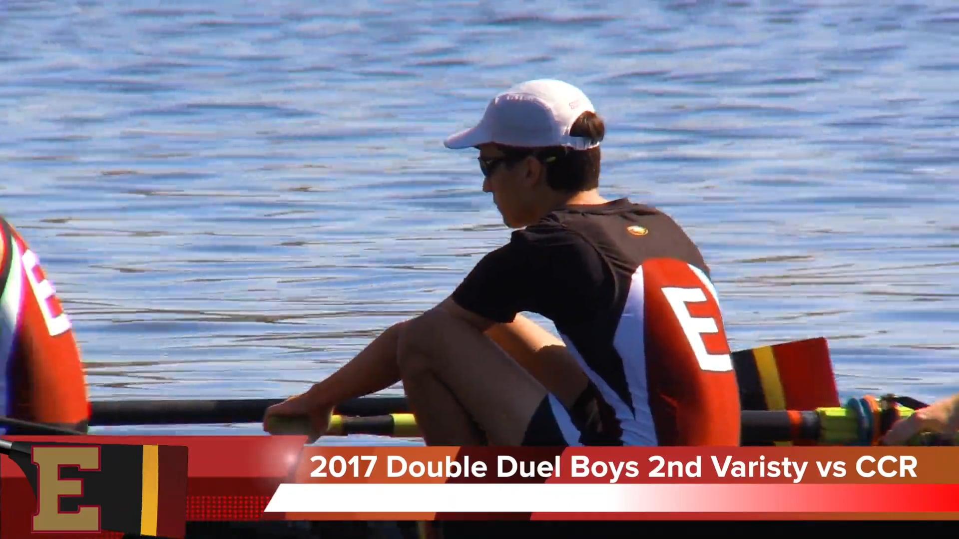 Boys 2nd Varsity 2017 Double Duel Jacksonville Episcopal vs Capital City Rowing