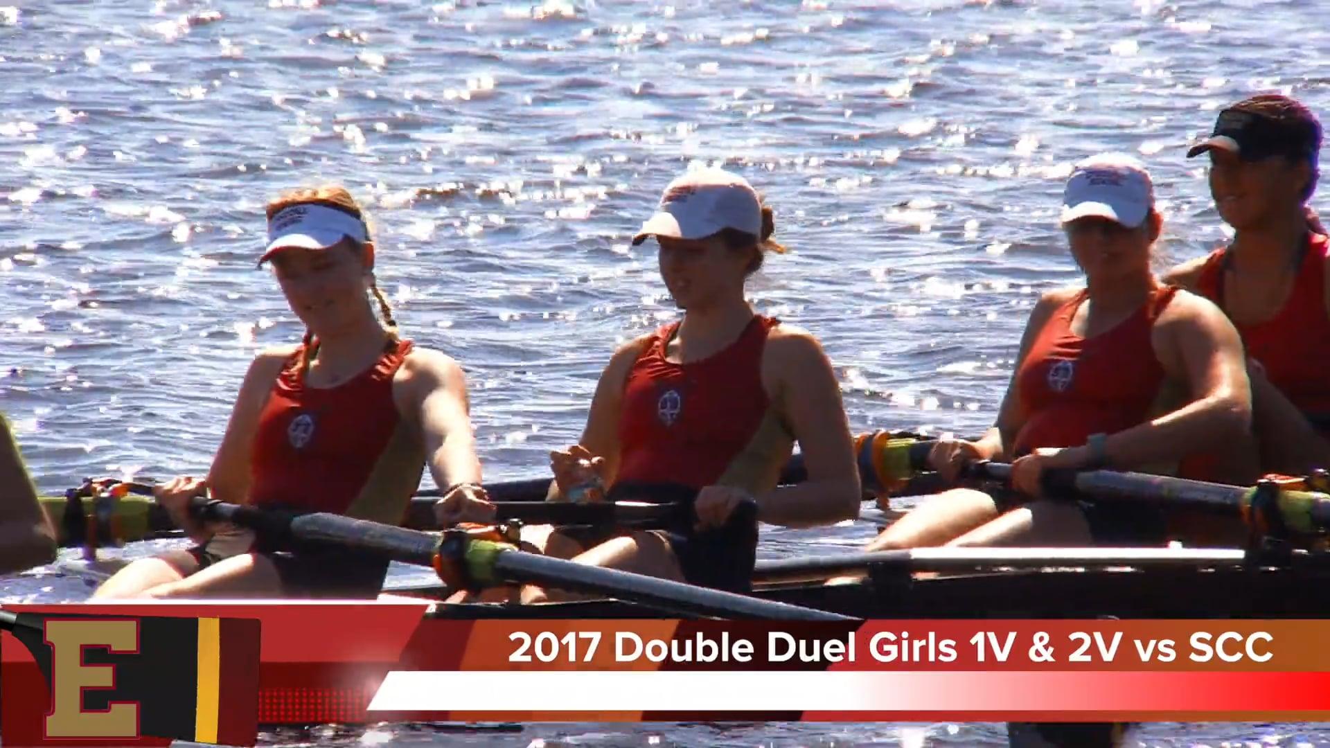 Girls 1st & 2nd Varsity 2017 Double Duel Jacksonville Episcopal vs Space Coast Crew