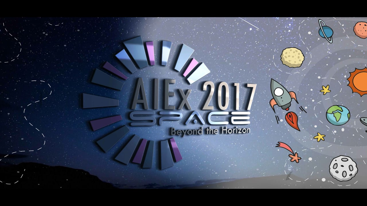 AIEx 2017- SPACE Beyond the Horizon (Official Trailer)