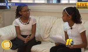 Local Sisters Tie in Spelling Bee