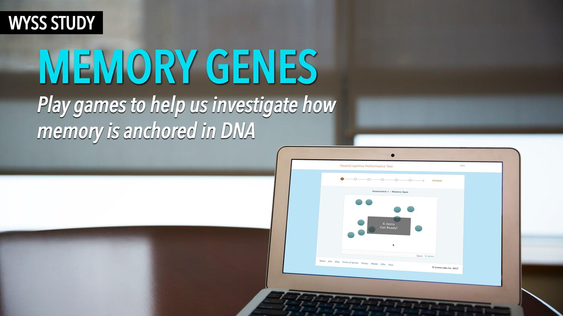 Wyss Study: Memory Genes