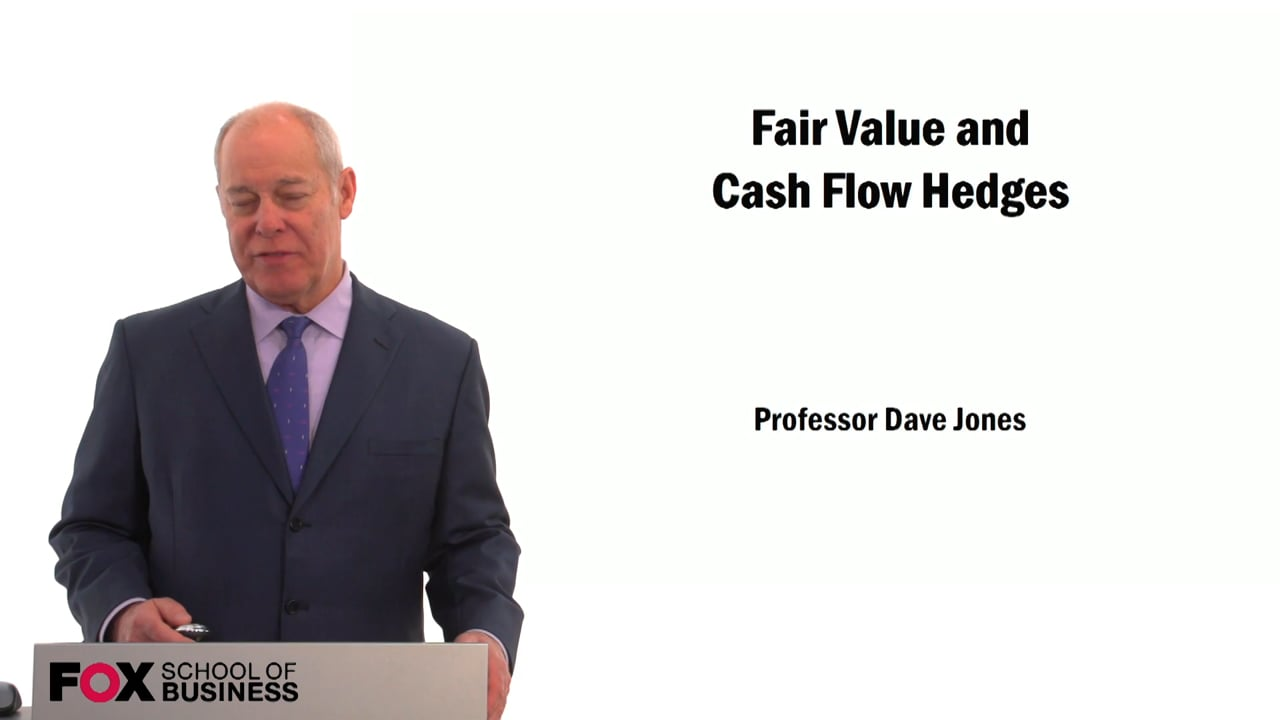 59541Fair Value and Cash Flow Hedges