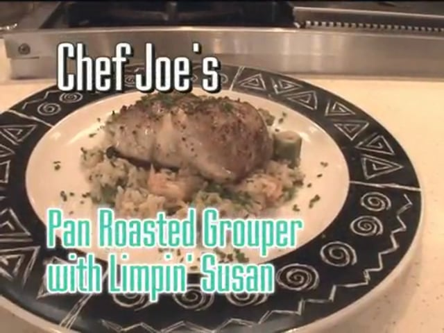Pan Roasted Grouper with Limpin' Susan