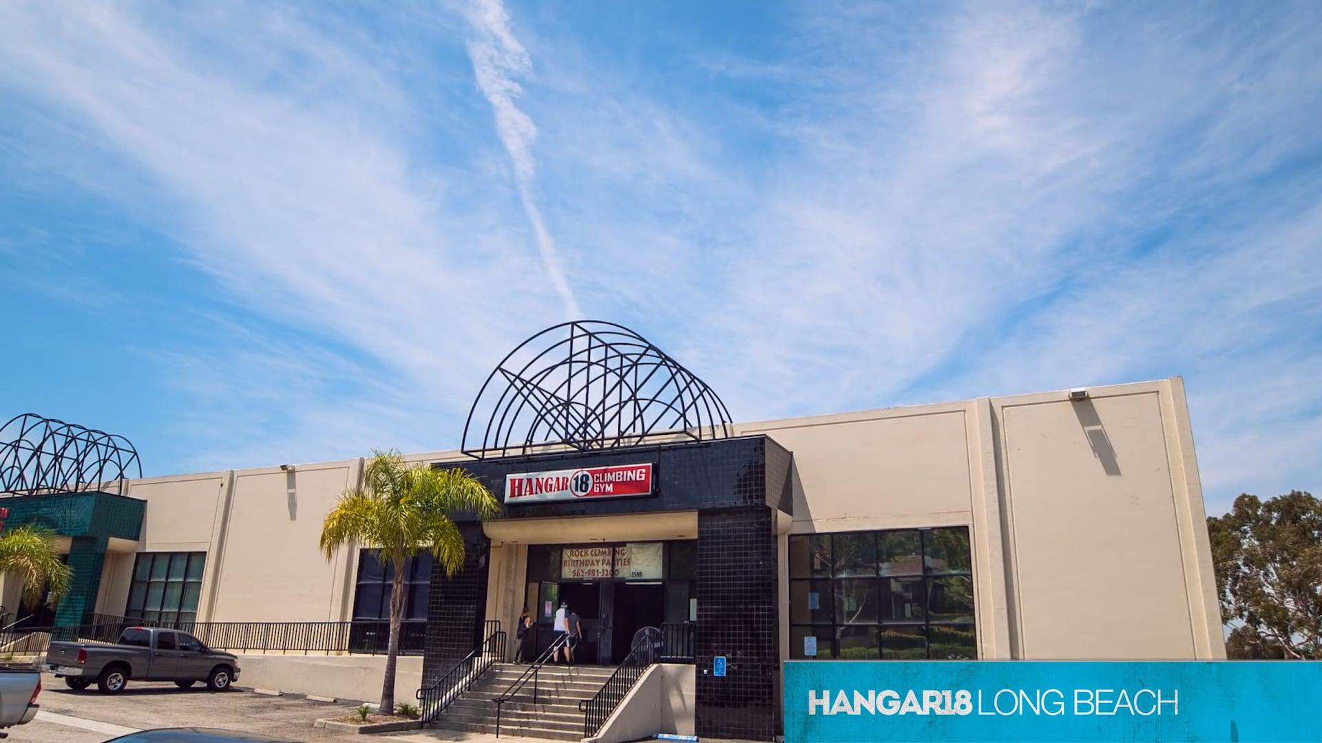 Promo for Hanger 18 Rock Climbing Gym - Long Beach