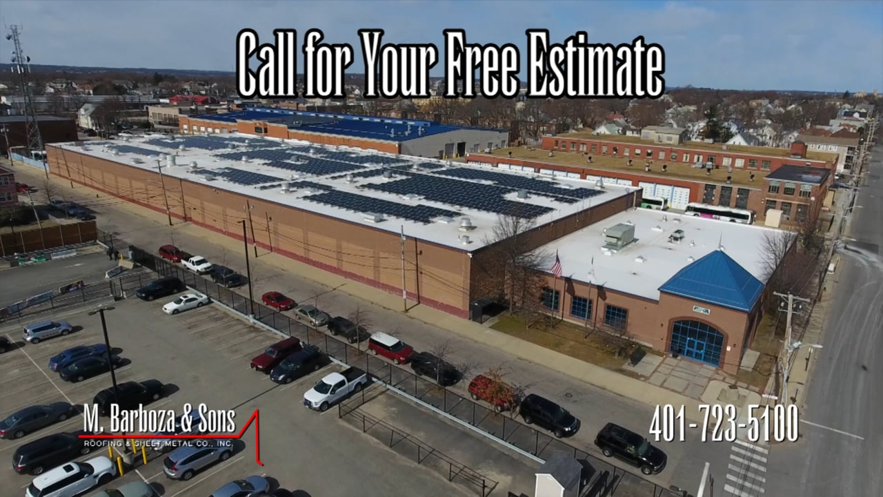 Commercial | M Barboza & Sons Roofing & Sheet Metal Co., Inc.