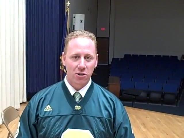 Assistant Principal praises James Warren's anti-bullying school assembly