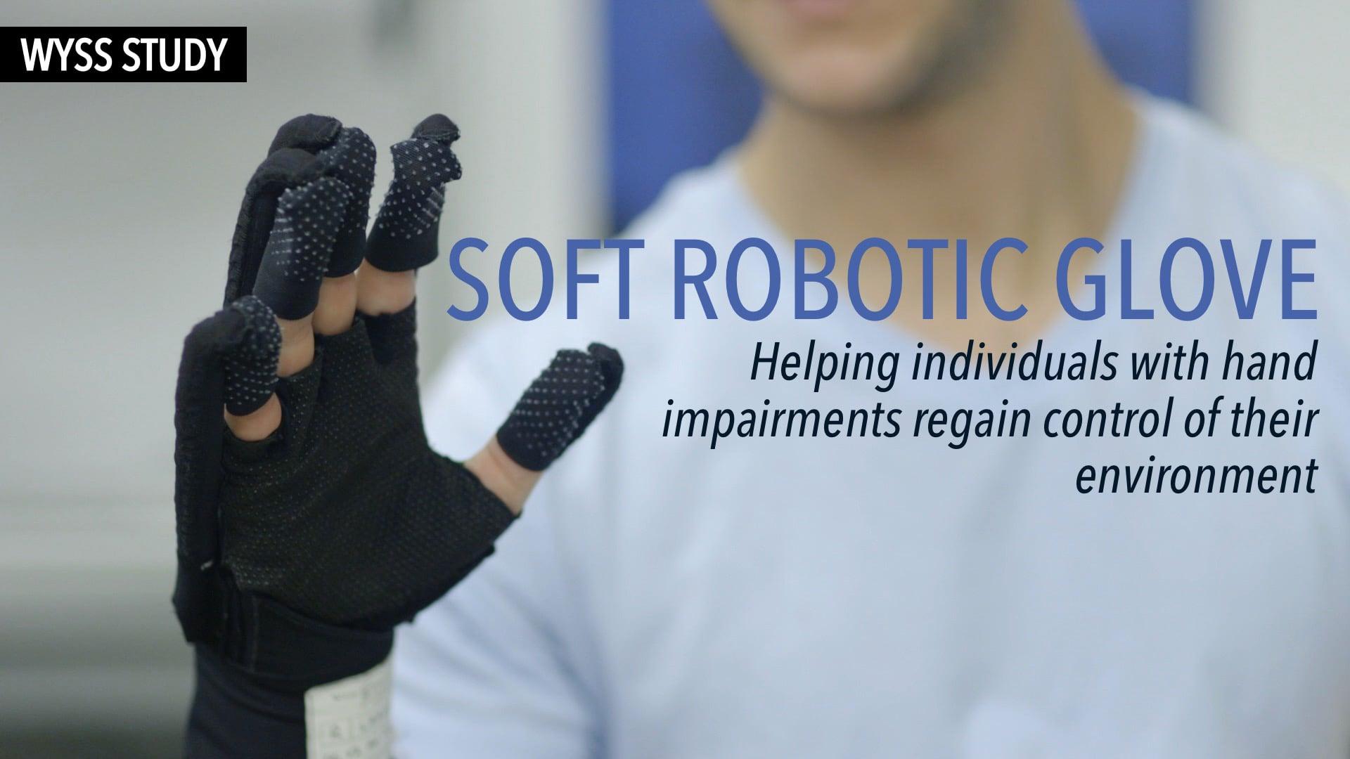 Wyss Study: Soft Robotic Glove