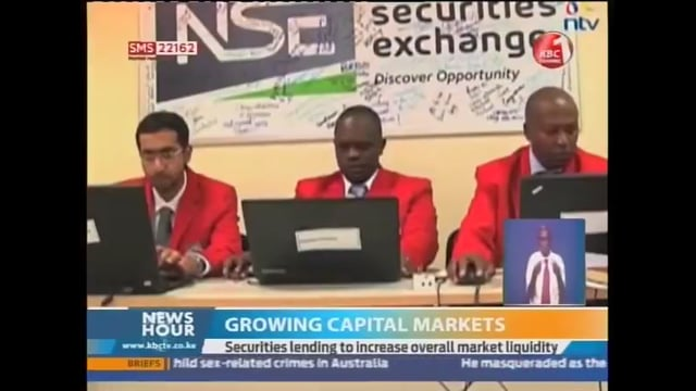 KBC Channel 1 Coverage of FSVC's Roundtable on Improving Liquidity in Kenya's Capital Markets - March 9, 2017