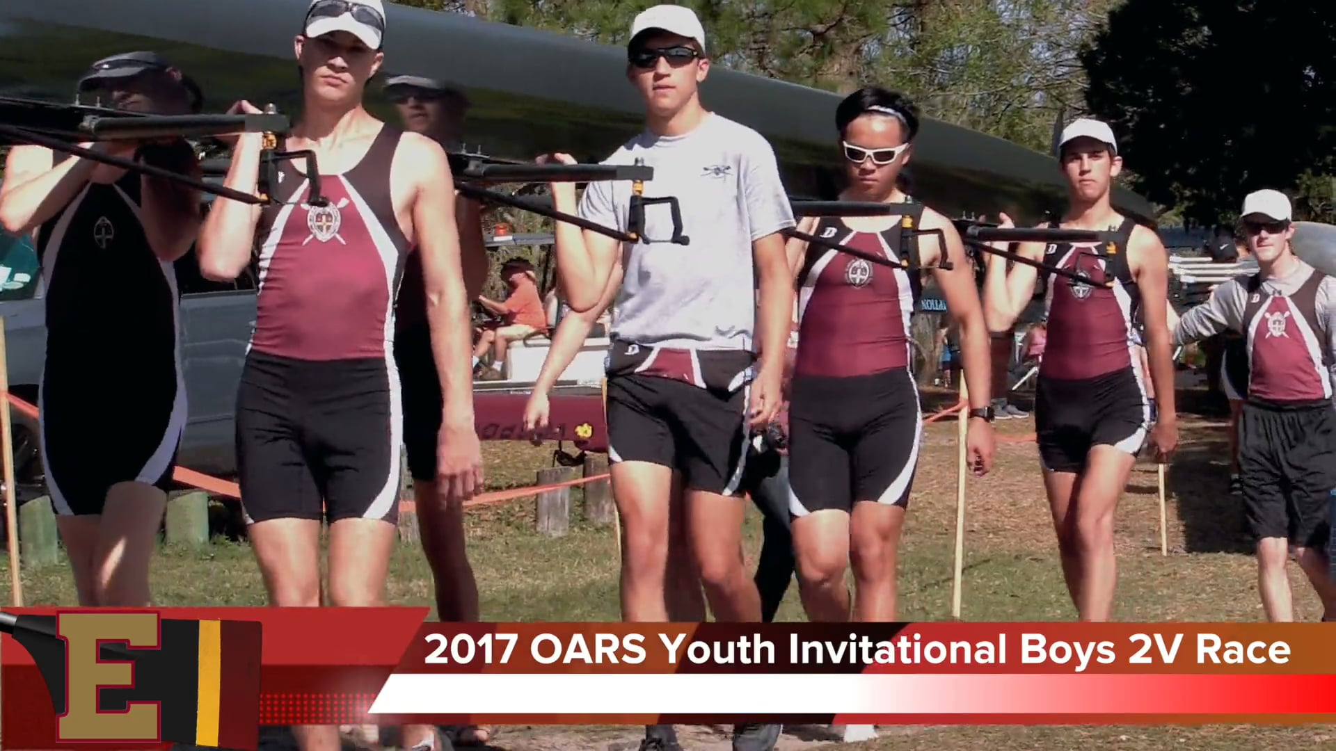 Boys 2V8+ Race 2017 OARS Youth Invitational