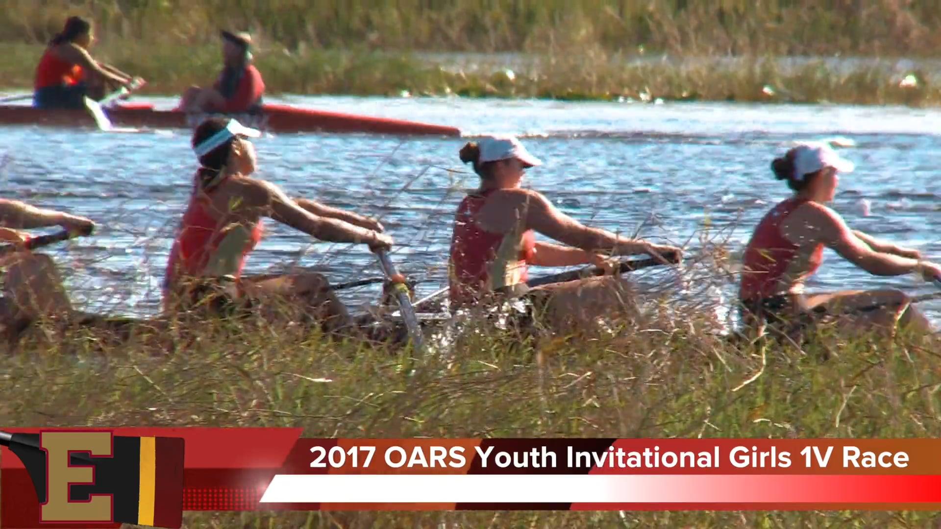 Girls 1V8+ Race 2017 OARS Youth Invitational
