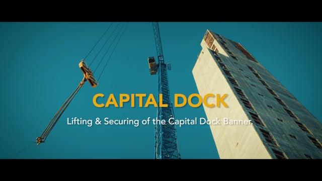 Capital Dock Signage.