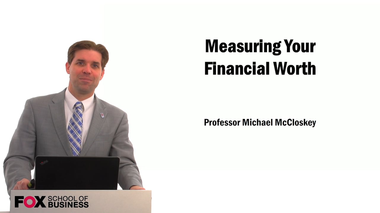 59553Measuring Your Financial Worth