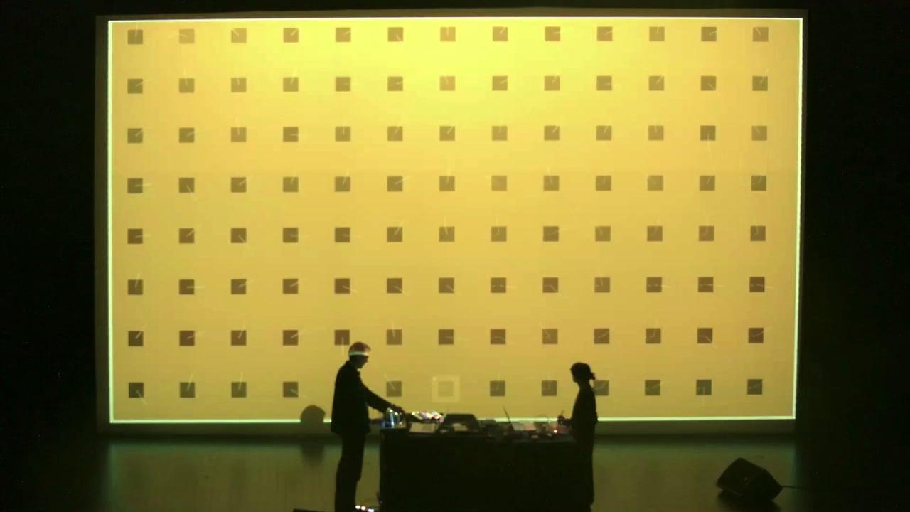 Dimension N - Alba G Corral & Makaruk - performance at Centre d'Arts d'Enghien 4.03.2017