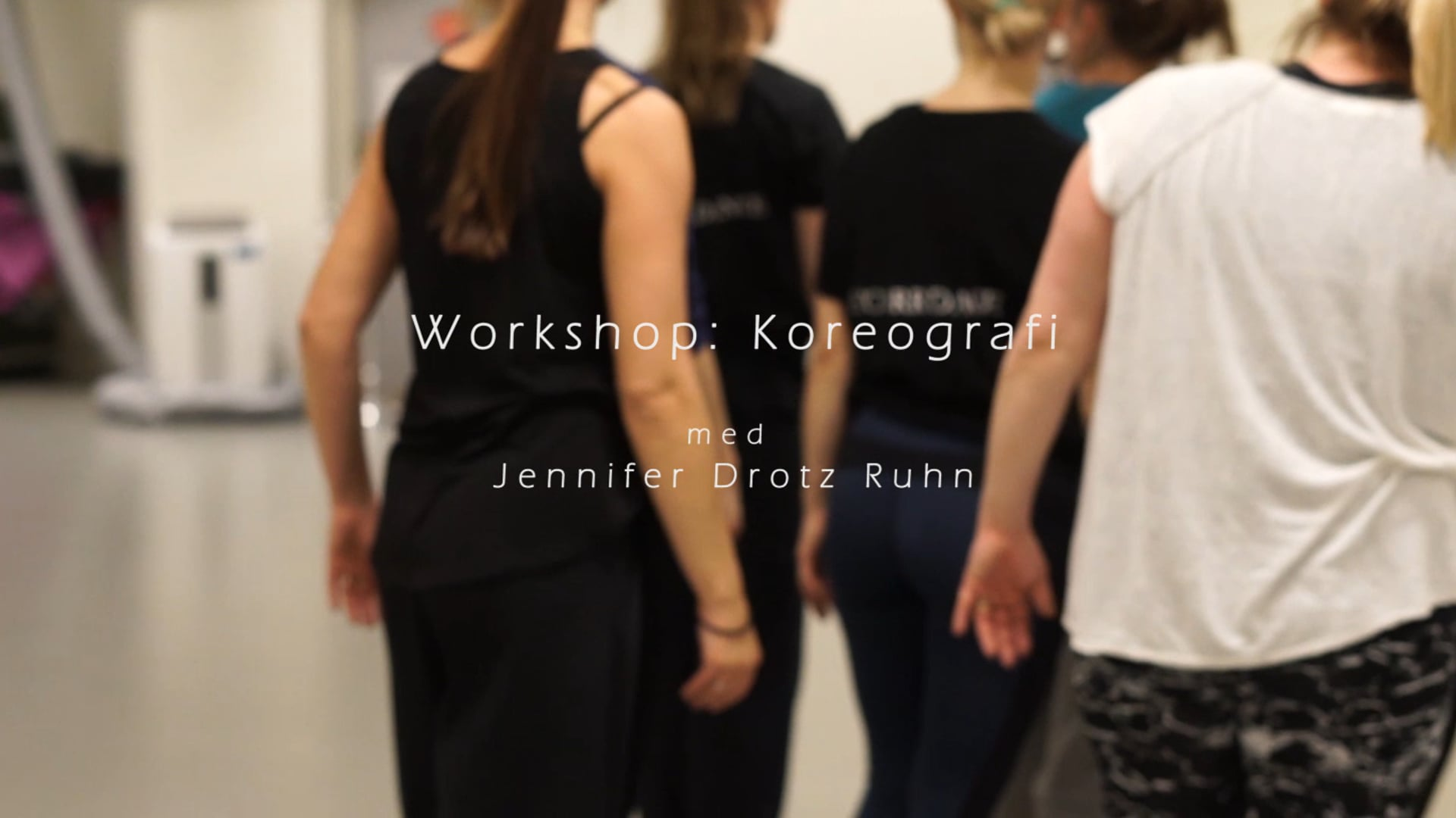 Drotz Ruhn Dance: Workshop Koreografi