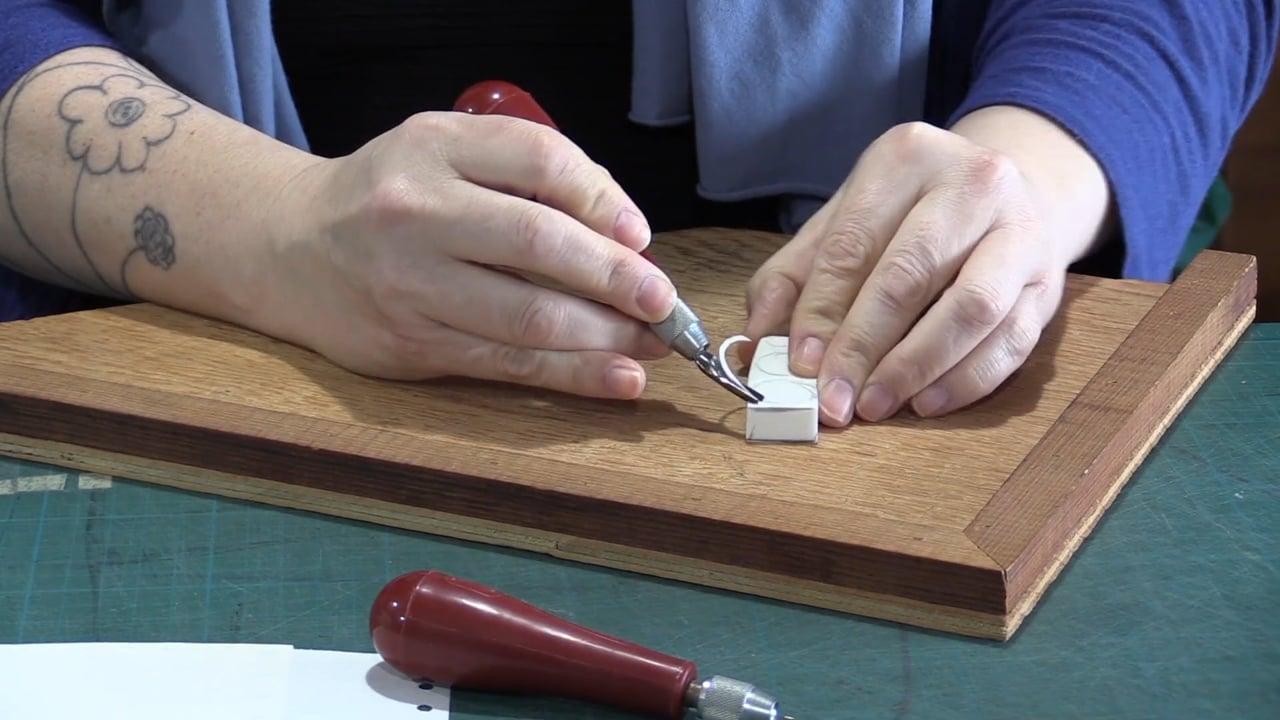 MAKER MAKER: Hand-Carved Stamps with Tara K. Wells