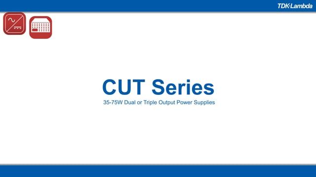 CUT35 -75W Dual or Triple Output Power Supplies Video