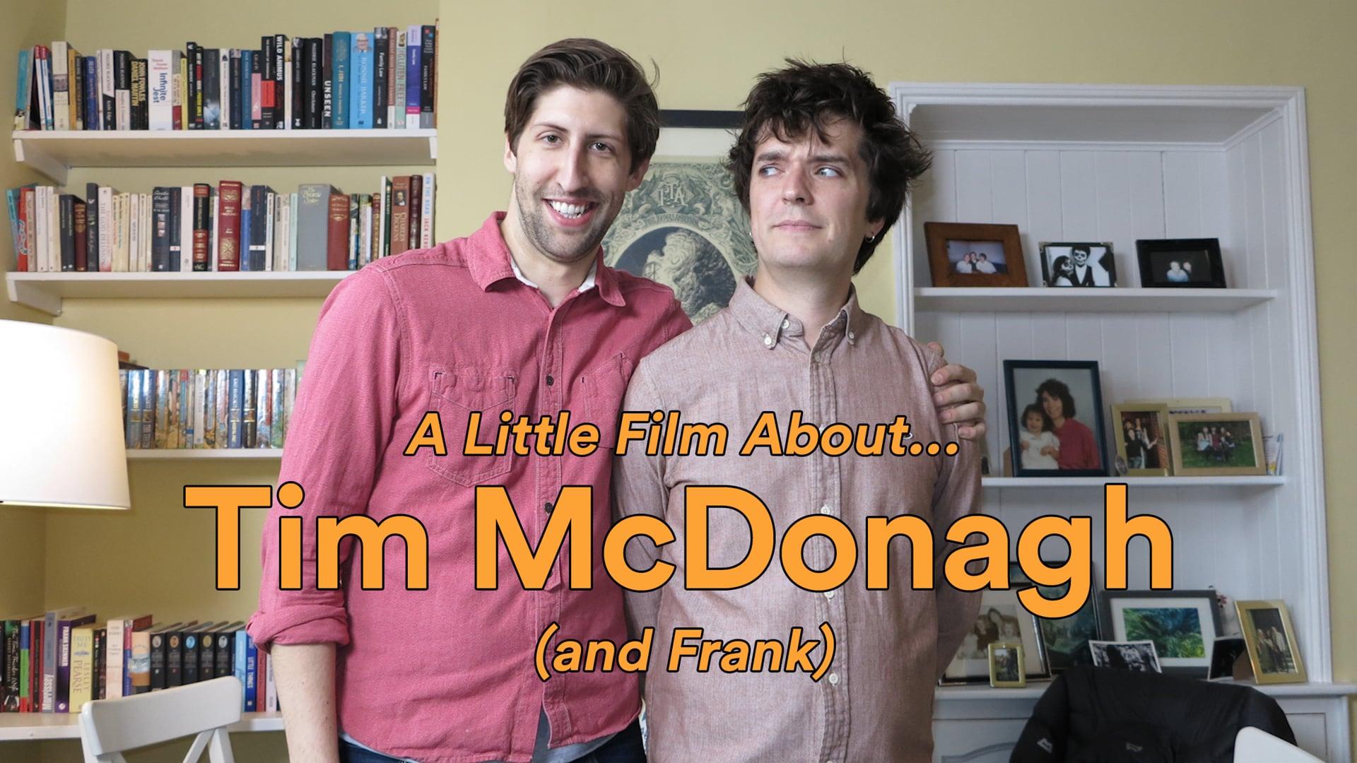 A Little Film About... Tim McDonagh