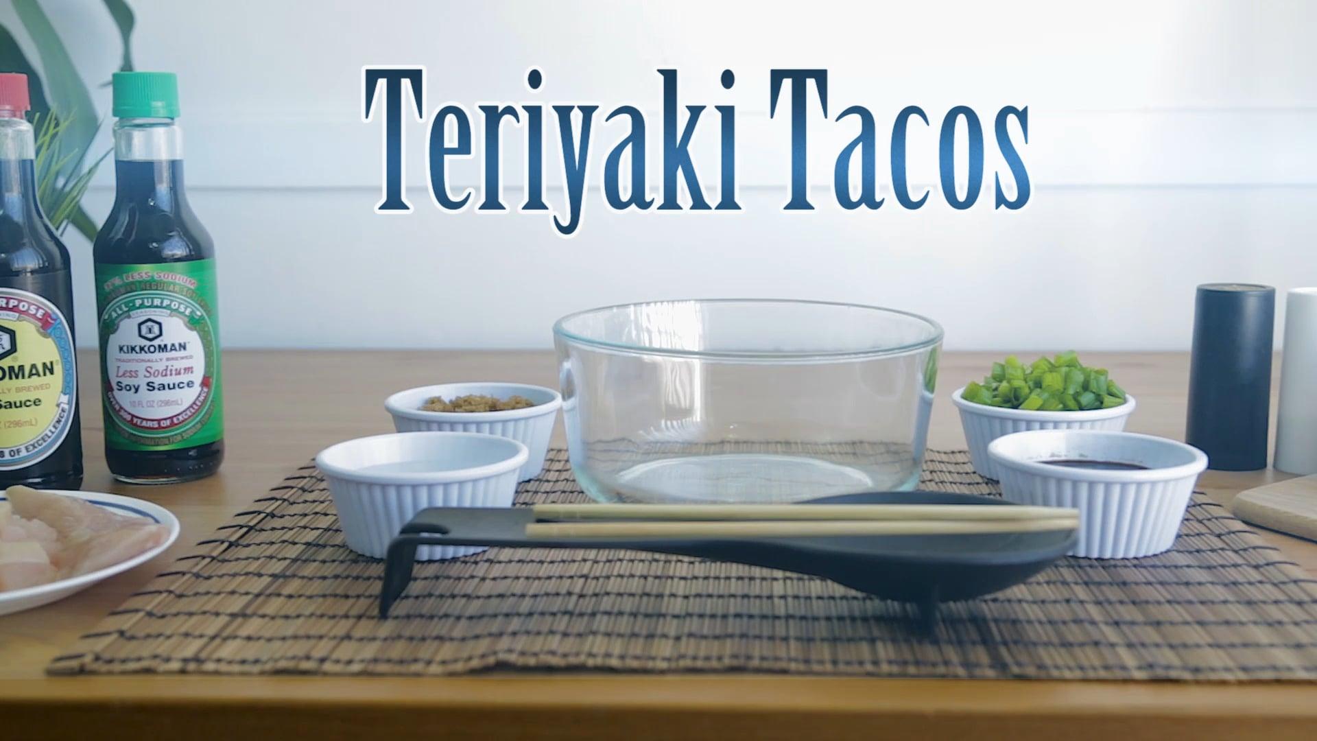 Kikkoman Teriyaki Tacos