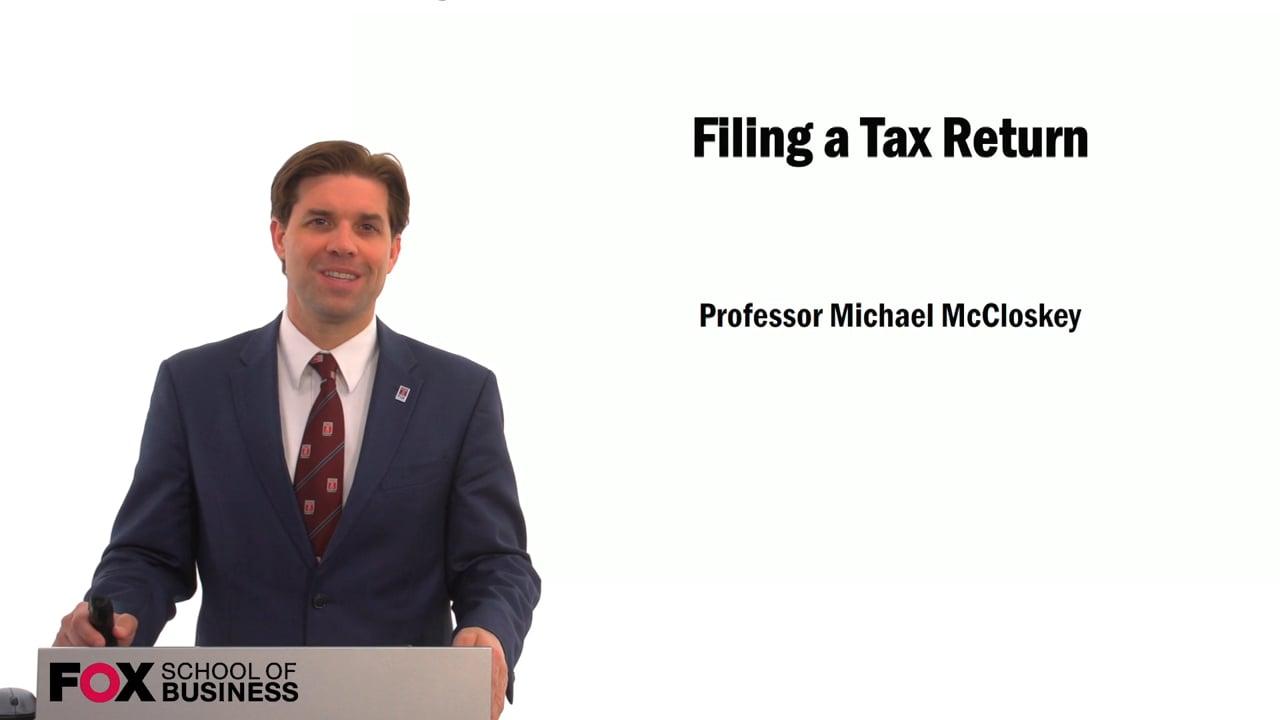 59565Filing a Tax Return