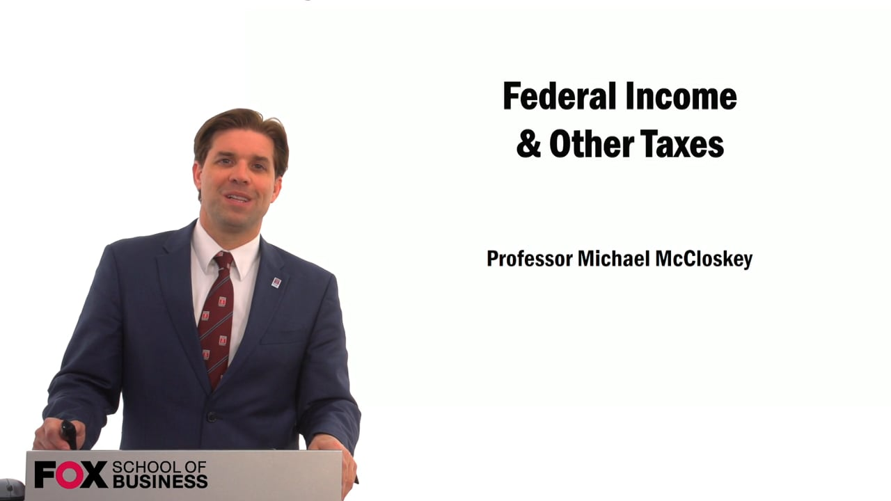 59564Federal Income & Other Taxes