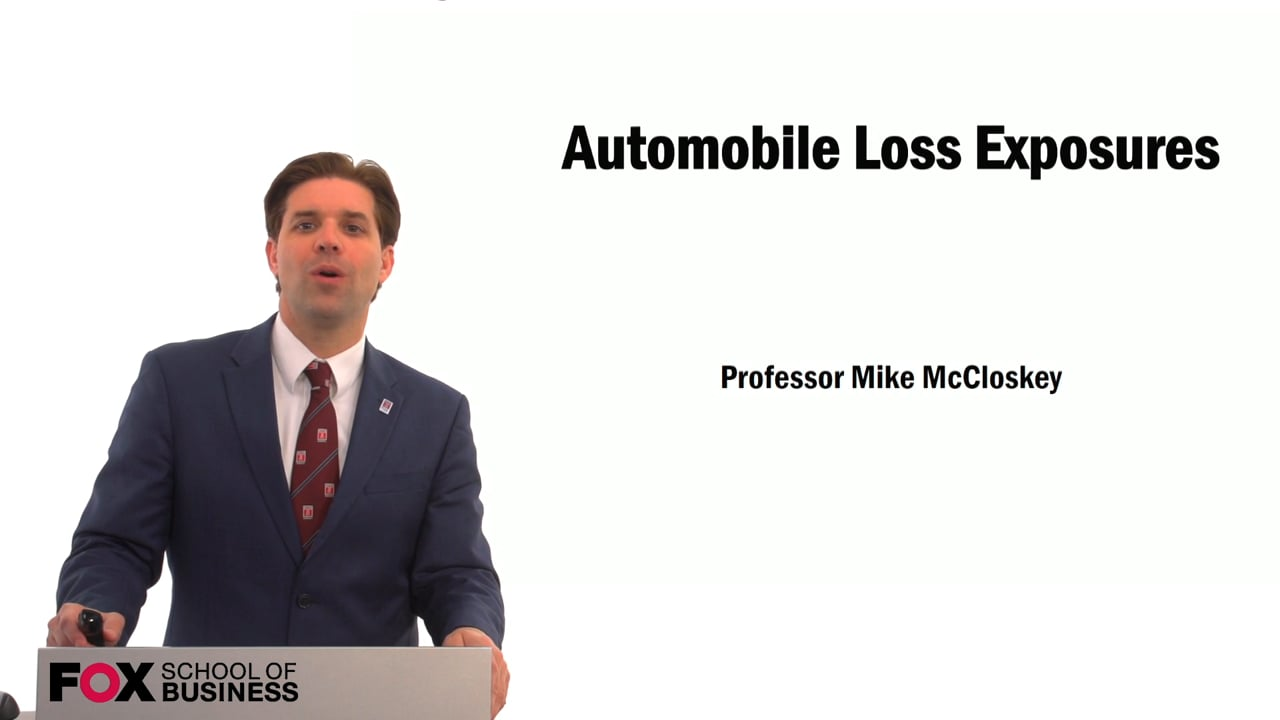 59562Automobile Loss Exposures