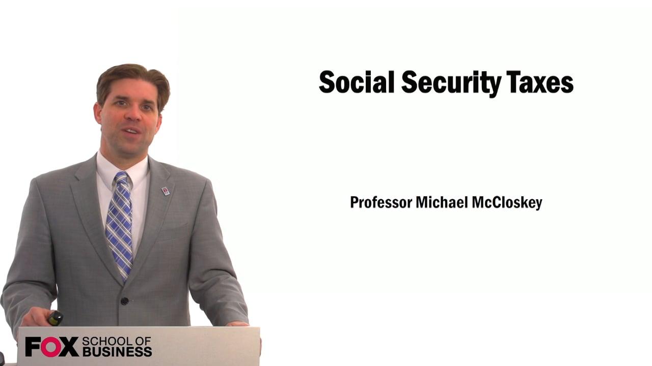 59555Social Security Taxes