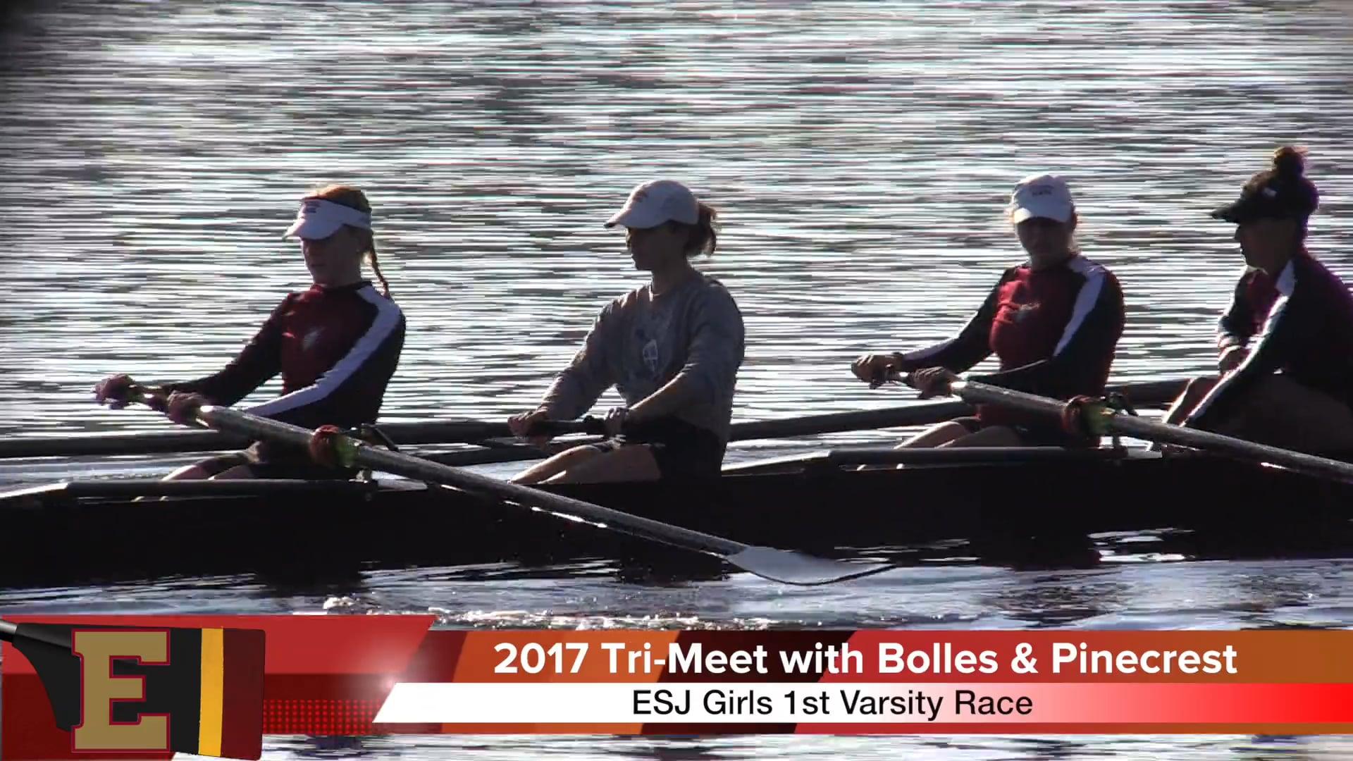 Girls 1st Varsity 2017 Tri-Meet vs Bolles & Pine Crest Race