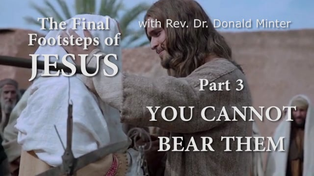 You Cannot Bear Them