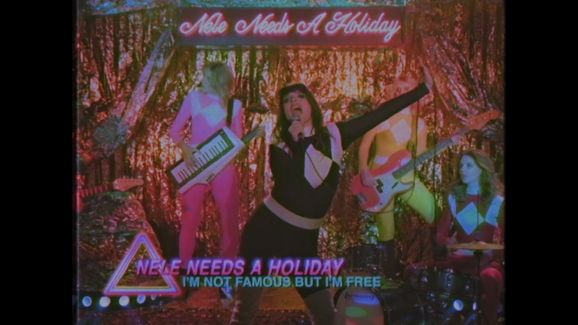 NELE NEEDS A HOLIDAY / I'M NOT FAMOUS BUT I'M FREE