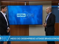 Medo do desemprego atinge os brasileiros | Sulivan França - Record News - 08/02/17/