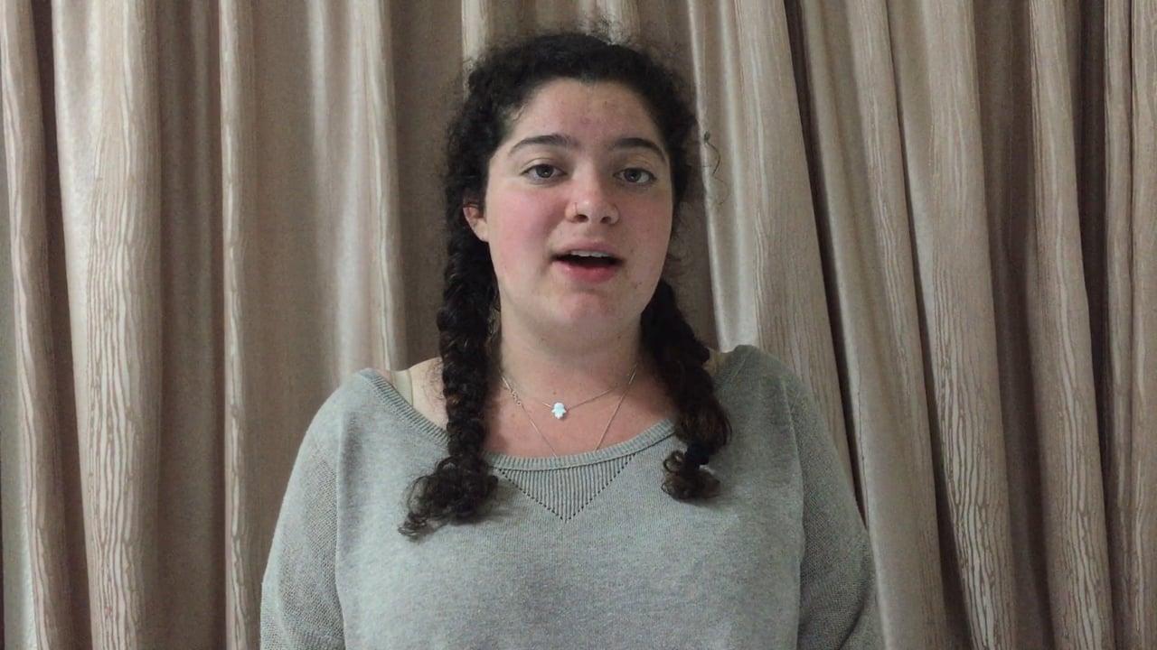 Liora Meet the Canidate SAVP