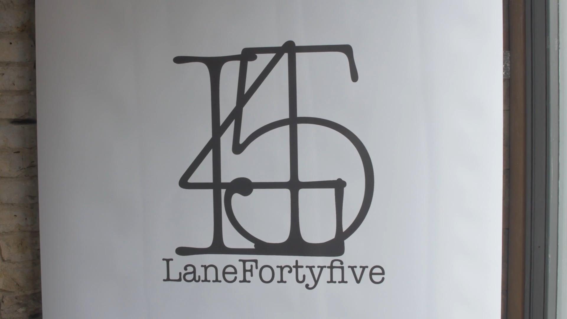 LaneFortyFive - Clothes Line Launch
