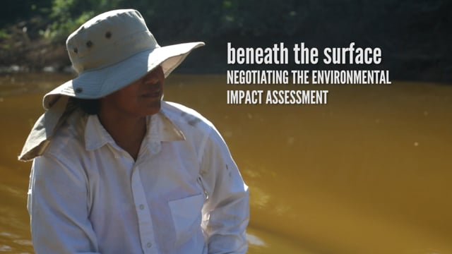 Beneath the Surface: Negotiating the Environmental Impact Assessment (ENGLISH)