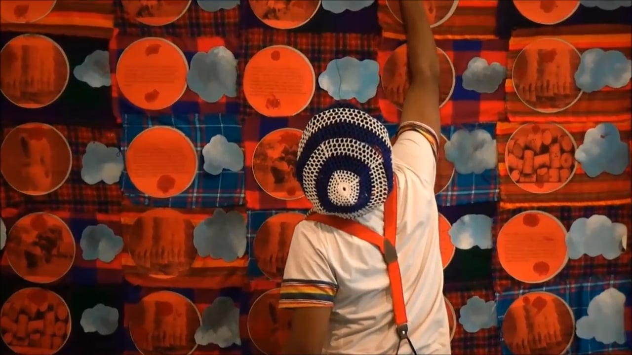 """Tamrat Gezahegne Performance """"Our climate and the clothes we wear"""". A video from Tommaso Merlo."""